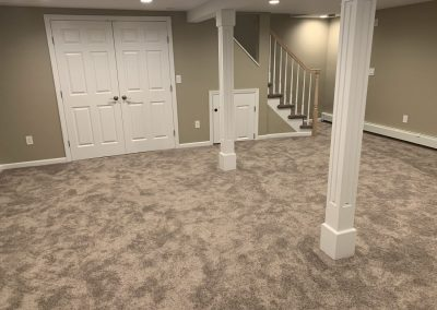 Basement Renovation (Before & After)