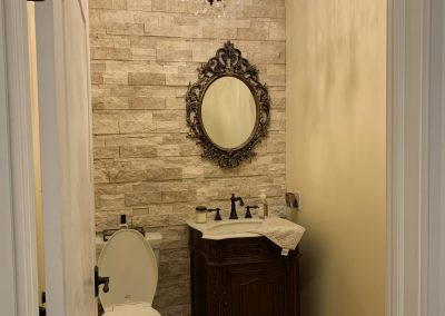 New Construction Half Bathroom